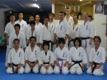 Japonia 2009 Treningi