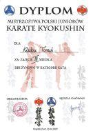 MPJ PFKK Wąbrzeźno 25.04.2009 dyplom