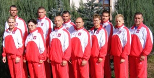 Kadra PFKK na Mistrzostwa Świata Kyokushin Karate - Budapeszt 2009
