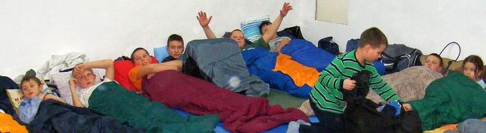 Noc w dojo grudzien2009