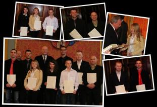 W 2010 roku z rąk prezydenta Torunia Michała Zaleskiego i wiceprezydenta Zbigniewa Fiderewicza odebraliśmy nagrody za wyniki sportowe osiągnięte w 2009 roku.