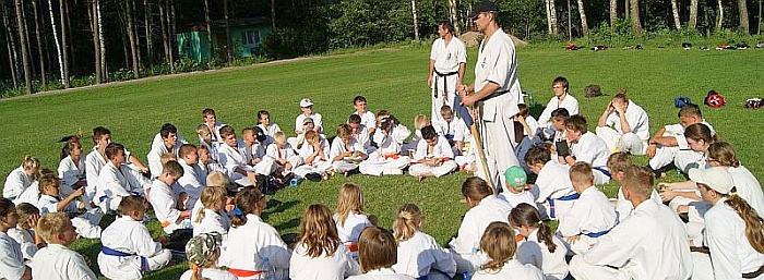 Wakacje z karate 2012