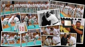 Po 25 latach treningu zawodnik i instruktor naszego klubu Andrzej Poczwardowski przystąpił do testu 50 kumite.