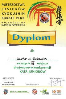MWKP PFKK Toruń 31.05.2015 dyplom kata