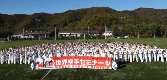 Seminarium karate shinkyokushin w japonii (7)