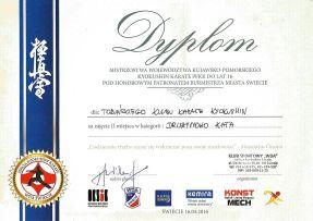MWKP PFKK Świecie 16.04.2016 dyplom