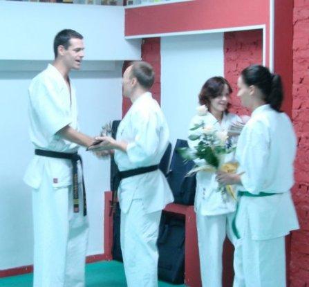 20-lecie pracy instruktorskiej sensei Artura Wilento