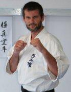 Andrzej Poczwardowski 2dan, kategoria -80kg.