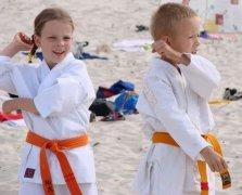 Wakacje z karate w Ustce