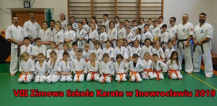 VIII Zimowa Szkoła Karate w Inowrocławiu 2019