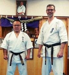 Kaicho Masahiro Kaneko i Shihan Artur Wilento