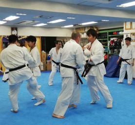 Trening Kyokushin Kenbukai